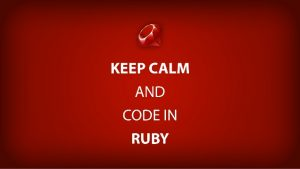 keep calm and code in ruby meme