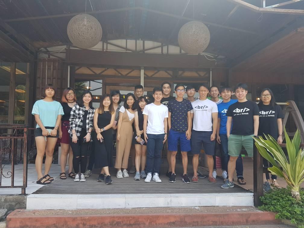 group photo of The Techy Hub