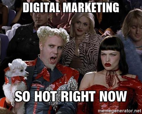 Digital marketing meme